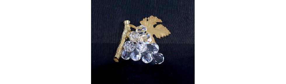 bomboniere in cristallo swarovski e metalli preziosi