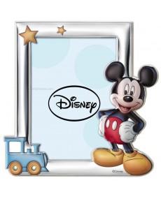 Cornice porta foto Mickey Mouse in argento
