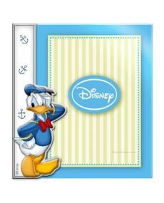 Cornice porta foto Donald Duck  in argento e plexglass