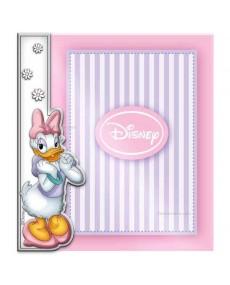 Cornice porta foto Daisy Duck in argento e plexglass
