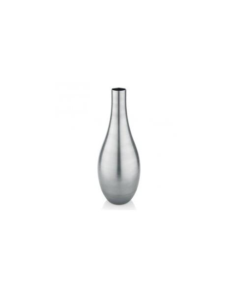 Vaso decoro platino h. cm 55