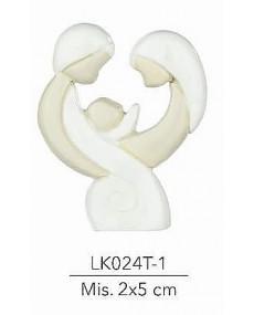 Bomboniera sacra famiglia  mis:2x5 cm