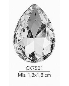 STRASS GOCCIA MIS:1.3X1.8 CM