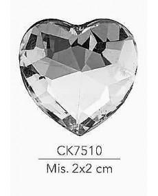 STRASS CUORE MIS.2X2 CM