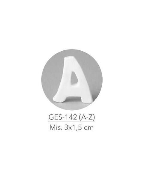 GESSETTO LETTERA A MIS. 3X1,5 CM