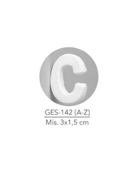 GESSETTO LETTERA C MIS. 3X1,5 CM