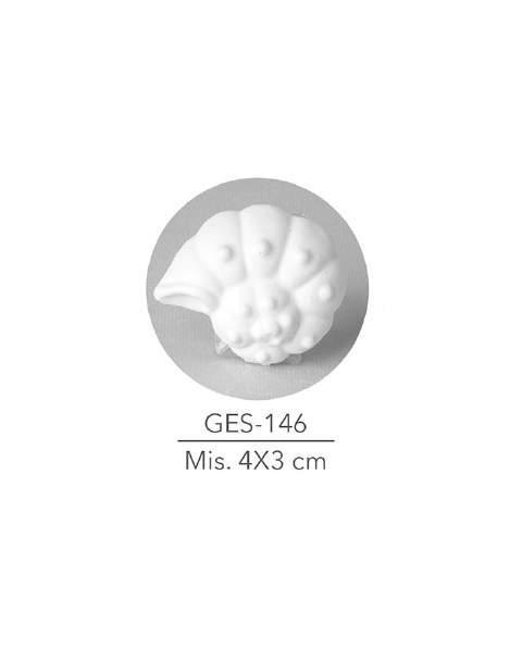 GESSETTO CONCHIGLIA MIS. 4X3 CM