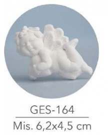 GESSETTO  ANGELO MIS: 6.2X4.5 CM