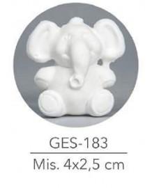 GESSETTO ELEFANTE MIS: 4X2,5 CM