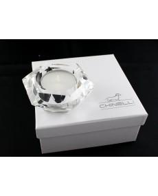 tea light esagonale cristallo lux con scatola f/c