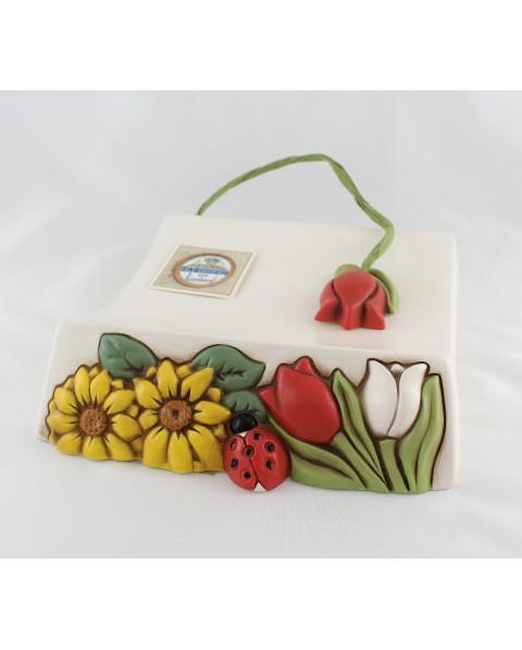 Porta tovaglioli in ceramica Nonnamara