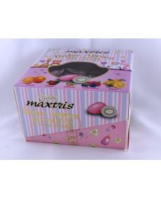 Confetti vassoio dolce arrivo mix frutta rosa