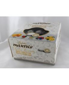 Confetti vassoio dolce evento mix frutta bianco