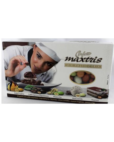 Maxtris mix pasticceria nei vari gusti assortiti