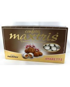 Maxtris amaretti con mandorla tostata e cioccolato bianco