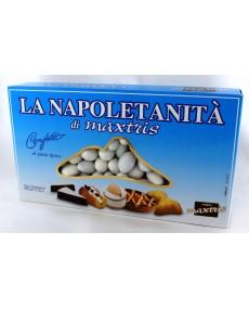 Maxtris la Napoletanità  , assortimento di confetti alla mandorla con vari gusti assortiti