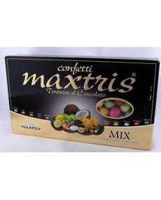 Mix Maxtris confetti alla mandorla ricoperto da cioccolato bianco assortito nei vari gusti